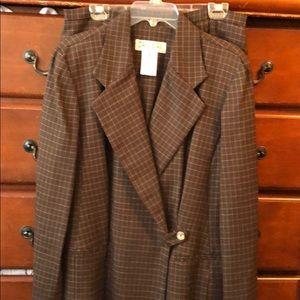 Dani Max Brown Pant Suit